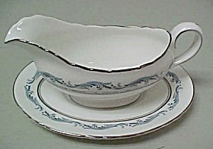 Aynsley Denver Gravy Boat With Underplate