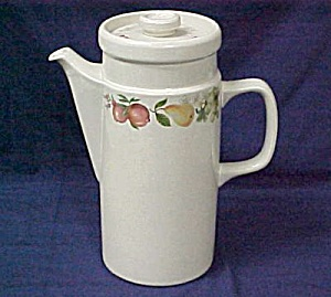 Wedgwood Quince Coffee Pot With Lid