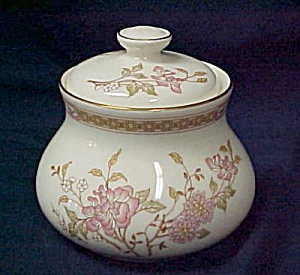 Royal Doulton Lisette Sugar Bowl With Lid