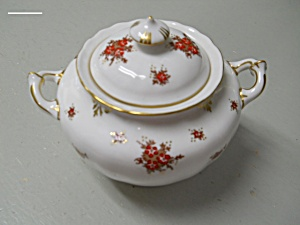 Royal Crown Derby Norfolk Sugar Bowl With Lid