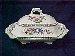Spode Chinese Rose Covered Vegetable (Image1)