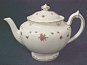 Royal Crown Derby Norfolk Teapot With Lid