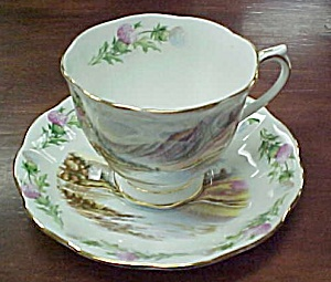 Royal Albert Banks O' Loch Lomon Cup & Saucer