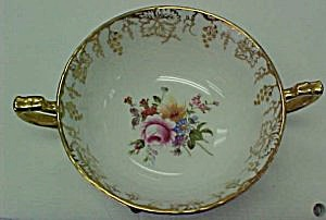 Royal Crown Derby Vine  Cream Soup Bowl (Image1)