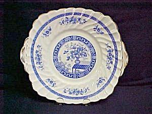 Gladstone Blue Rhapsody Cake Plate (Image1)