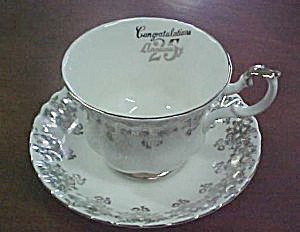 Royal Albert 25th Anniversary Cup & Saucer
