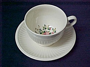 Wedgwood Conway Ak8384 Cup & Saucer