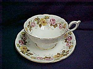 Coalport Rosalinda Cup & Saucer (Image1)