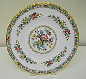 Coalport Ming Rose (Scalloped) Salad Plate