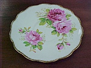 Royal Albert American Beauty Rose Saucer (Image1)