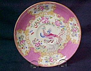 Minton  Cockatrice  (Pink) Saucer (Image1)