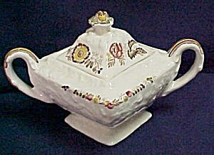 Mason'S Friarswood Sugar Bowl with Lid (Image1)