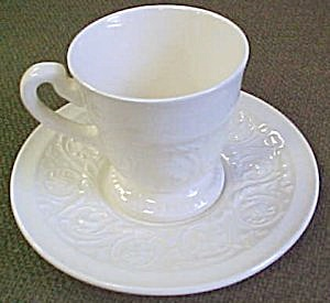 Wedgwood Patrician (Plain) Demitasse Cup & Saucer