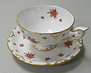 Royal Crown Derby Norfolk  Cup & Saucer (Image1)