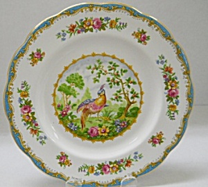 Royal Albert Chelsea Bird Blue Bread & Butter Plate