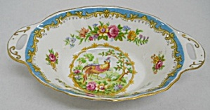 Royal Albert Chelsea Bird Blue Nut Or Candy Dish