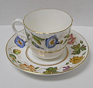 Royal Worcester Virginia Cup & Saucer