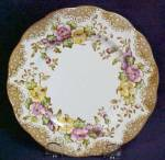 Click here to enlarge image and see more about item RAoLOVELACEoSAU: Royal Albert Lovelace Saucer