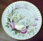 Click here to enlarge image and see more about item 156: Paragon Dubarry Bread & Butter Plate