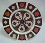 Click here to enlarge image and see more about item 520: Royal Crown Derby Old Imari B & B Plate