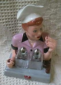 I Love Lucy Job Switching Candy Salt & Pepper