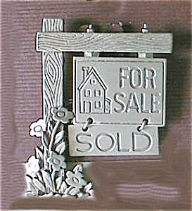 All Pewter For Sale Realtor Pin