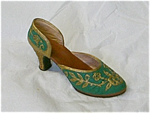 Just The Right Shoe Carved Heel #25096 (Image1)