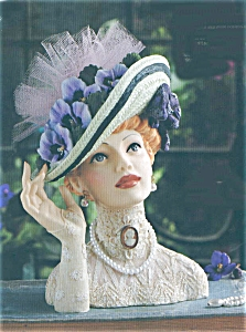 Cameo Girl Abigail 1911 - Easter Bonnet