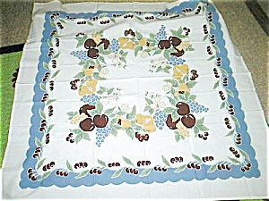 Vintage Pattern All Fruit Tablecloth