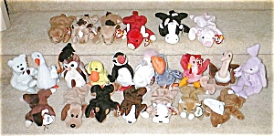 Beanie Baby Set Of 23 Retired