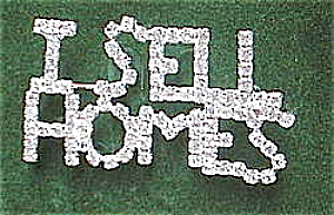I Sell Homes Realtor Pin In 'diamonds'