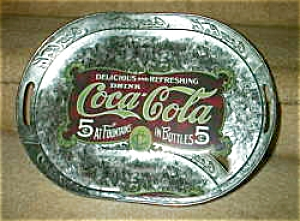 Coca Cola, Coke Galvanized Tray