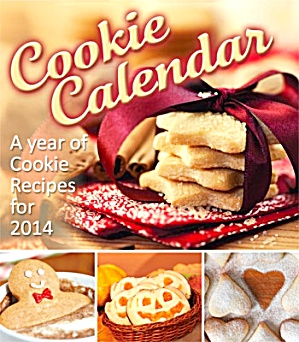2014 Cookie Recipes Magnetic Calendar (Image1)