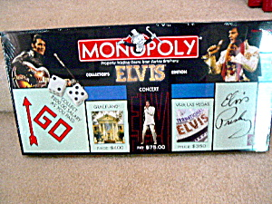 Elvis 25th Anniversary Monopoly Mint In Box
