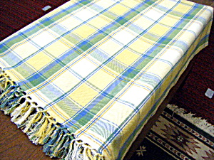 Fiesta Colored Fringed Tablecloth (Image1)