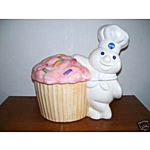Pillsbury Doughboy Funfetti RARE Cookie Jar (Image1)
