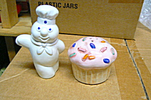 Pillsbury Doughboy Funfetti Salt & Pepper Set