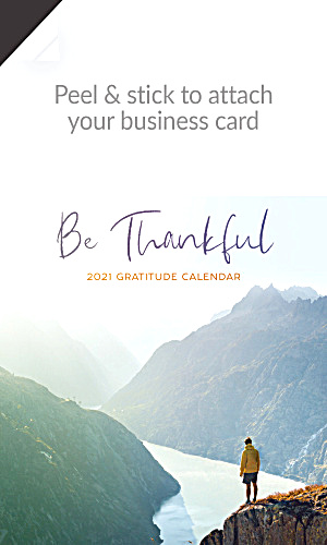 2017 Gratitude Quotes Magnetic Calendar
