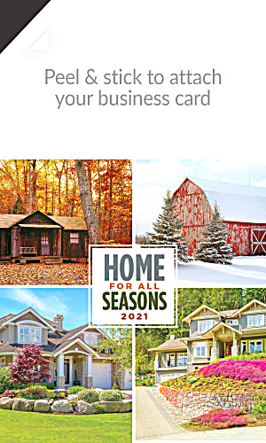 2014  House Real Estate Magnetic Calendars (Image1)