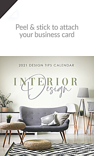 2019 Interior Design Magnetic Calendars