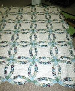 Karen's Wedding Ring Quilt