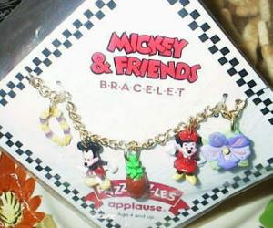 Mickey And Minnie Bracelet