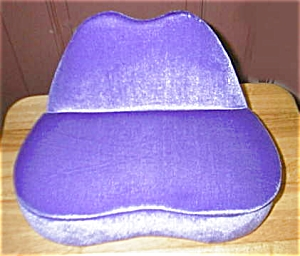 Purple Couch And Jewelry Box