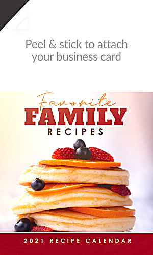 2021 Family Recipes Magnetic Calendars (Image1)
