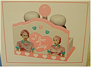 I Love Lucy With Ethel Salt & Pepper Set
