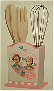 I Love Lucy Kitchen Utensil Set
