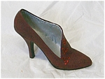Click here to enlarge image and see more about item 25048: Just The Right Shoe Pastiche #25048