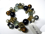 Click here to enlarge image and see more about item 3032: Ethel & Myrtle Chunky Asst. Beads Bracelet