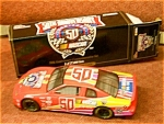 Click here to enlarge image and see more about item 50thanniversary: NASCAR 50th Anniversary Racing Champions Car