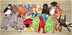 Click here to enlarge image and see more about item beaniesetof19: Retired set of 19 Beanie Babies